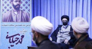 فیلم-گزارش خبری جلسه کمیته روحانیت ستاد بزرگداشت شیخ شهید در بیت نماینده ولی فقیه