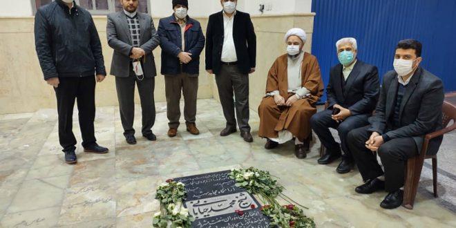 زیارت آرامگاه شیخ شهید محمد خیابانی توسط اعضای ستاد بزرگداشت