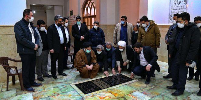 گزارش تصویری-زیارت آرامگاه شیخ شهید محمد خیابانی